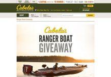 Cabela's Ranger Boat Giveaway