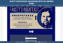 fyi.tv/rustysweeps - Rusty's Rock Feast Sweepstakes