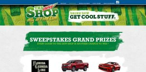 FoodLionDewShop.com - The Dew Shop 2015 Sweepstakes at Food Lion