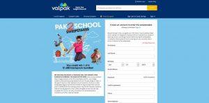 Valpak.com/School - Valpak Pak2School Sweepstakes