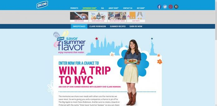 Dixie's Savor Summer Flavor Sweepstakes