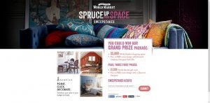 WorldMarketSweepstakes.com - World Market's Spruce Up Your Space Sweepstakes
