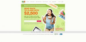 Coupons.com Back to School Sweepstakes