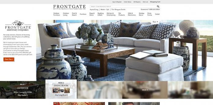 Frontgate.com/Anniversary - Frontgate 24th Anniversary Sweepstakes