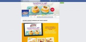 Nature's Harvest Sandwich Art Photo Contest
