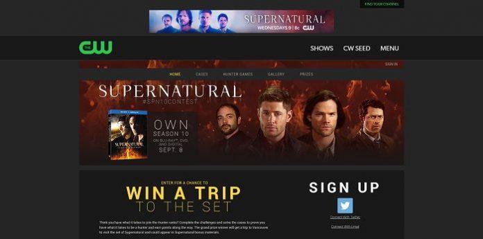 SPN10Contest.com - Supernatural Season 10 Contest