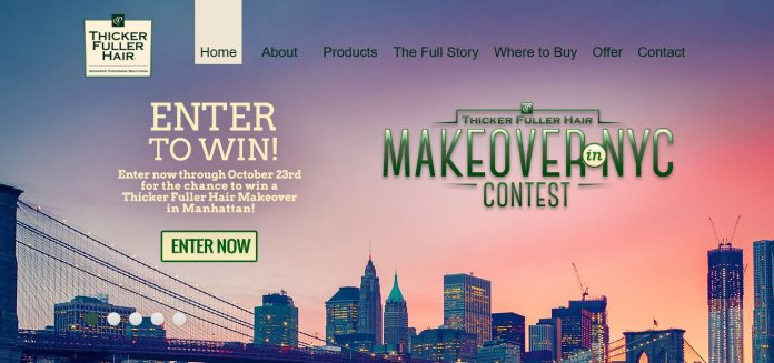 Thicker Fuller Hair Makeover In NYC Contest