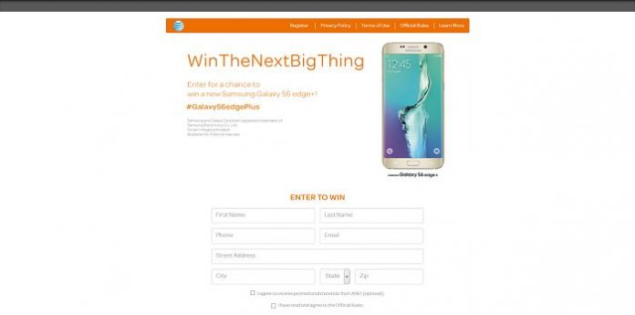 AT&T Samsung Galaxy S6Edge+ Giveaway