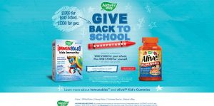 Nature's Way Give Back to School Sweepstakes