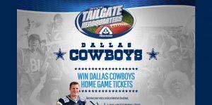 Albertsons 2015 Dallas Cowboys Ticket Giveaways