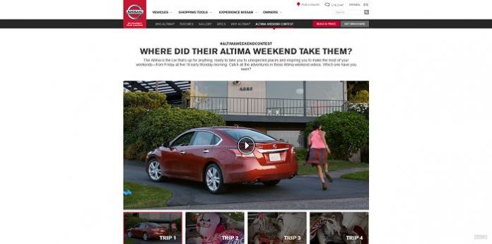 AltimaWeekend.com - Nissan Altima Weekend Contest