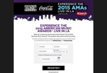 CarlsJrsAMASweeps.com - Carl's Jr. American Music Awards Sweepstakes and Instant Win Game
