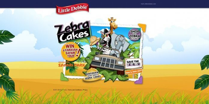 2015 Little Debbie Zebra Cakes Promotion