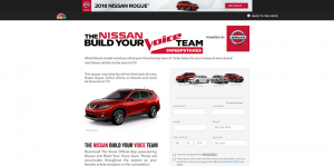 NBC.com/Nissan - NBC And Nissan's Build Your Voice Team Sweepstakes