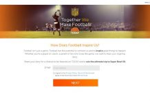 TogetherWeMakeFootball.com - Together We Make Football Contest