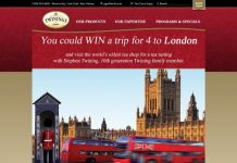 Twinings Of London Sweepstakes