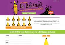 FreshHalloween.com - Del Monte Go Bananas Halloween Costume Giveaway 2016
