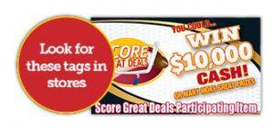 score great deals tags