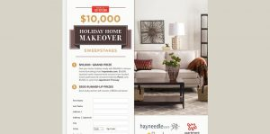 America's Test Kitchen $10,000 Holiday Home Makeover Sweepstakes