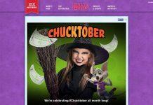 Chuck E. Cheese's Chucktober 2015 Sweepstakes