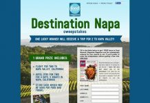 FoodNetwork.com/Napa - Food Network Magazine Destination Napa Sweepstakes