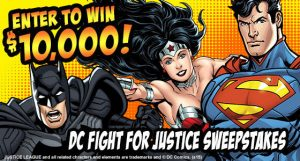 DC Fight for Justice Sweepstakes