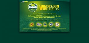 TriadHoopsTicketGiveaway.com - SUBWAY Triad Hoops Tickets Giveaway
