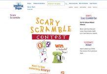 Imperial Sugar Scary Scramble Contest