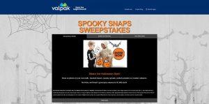 Valpak Spooky Snaps Sweepstakes