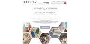 Win Your Shopping Cart at Horchow