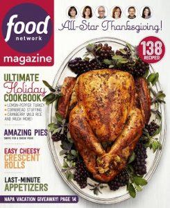 food network magazine november