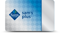 sam's club membership card plus