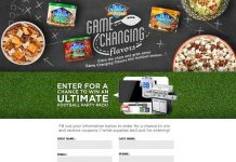 Blue Diamond Game Changing Flavors Sweepstakes (GameChangingFlavors.com)