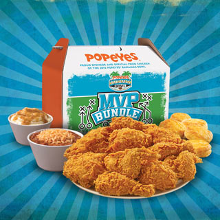 Popeyes MVP Bundle Box