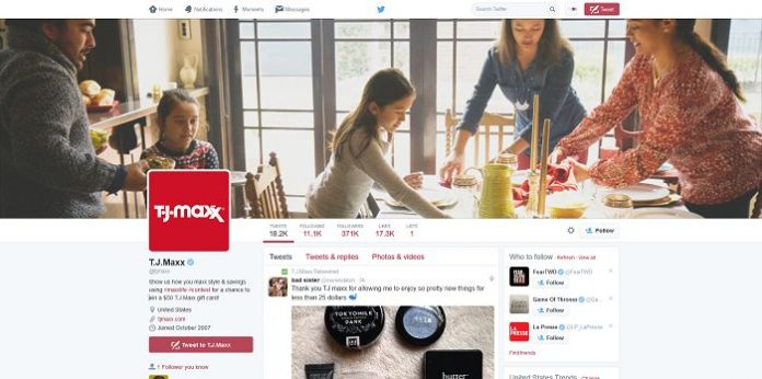 TJX Redeem the Season Twitter Contest