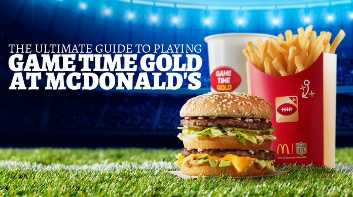 The Ultimate Guide To Playing Game Time Gold at McDonald's