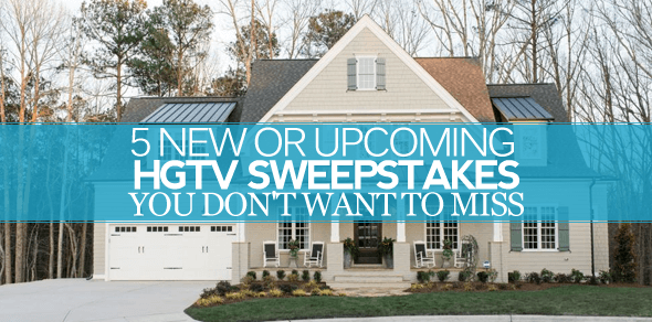 HGTV Sweepstakes 2016