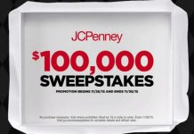 JCPenney's Black Friday Sweepstakes