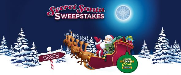 WheelOfFortune.com Secret Santa SPIN ID Sweepstakes 2016