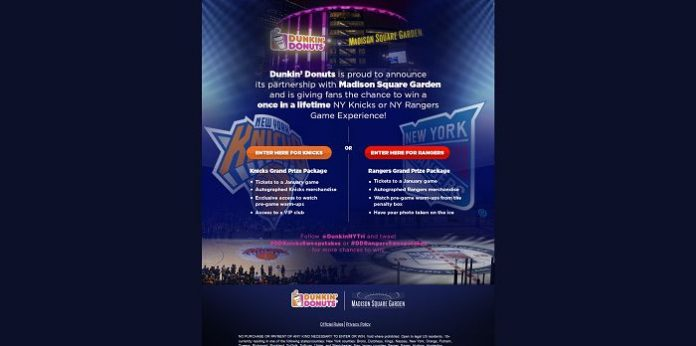 Dunkin's Madison Square Garden Kick-Off Sweepstakes