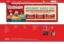 Redbox Holiday Bake Off Pinterest Sweepstakes