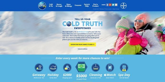 TheColdTruth.com - Tell Us Your Cold Truth Sweepstakes