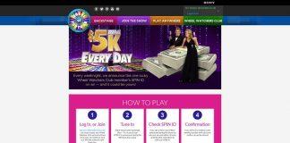 WheelOfFortune.com $5K Everyday Sweepstakes