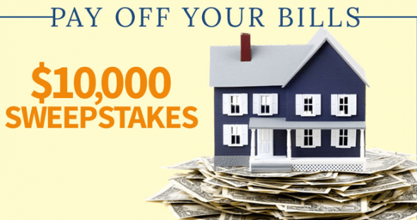 BHG Pay Off Your Bills $10,000 Sweepstakes (BHG.com/WinBills)
