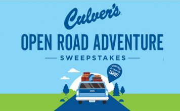 Culver's Open Road Adventure Sweepstakes