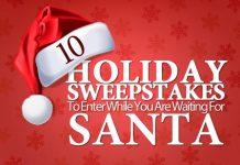 Holiday Sweepstakes