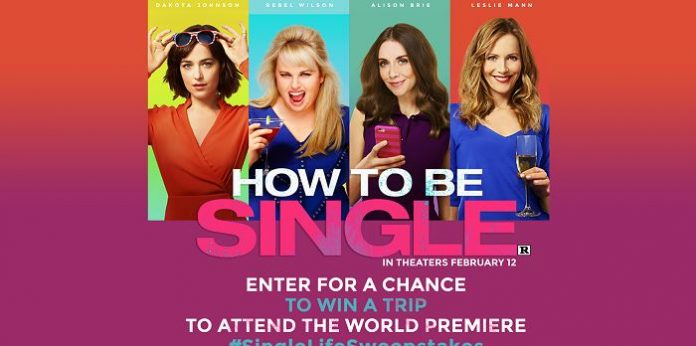 How To Be Single Sweepstakes