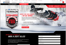 Polaris.com/ScratchAndWin - Polaris Terrain Domination Challenge