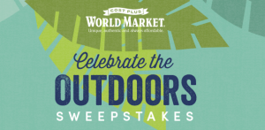 World Market Celebrate The Outdoors Sweepstakes