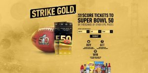 Pepsi Super Bowl 50 Strike Gold Game
